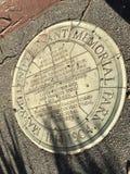 Het kleinste officiële die park van San Francisco ` s, voor haar eerste burgerrechtenactivist wordt genoemd, 3 stock foto's