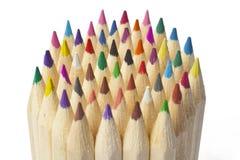 Het kleuren Pensil royalty-vrije stock afbeeldingen