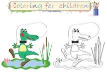 Het kleuren voor kinderen. royalty-vrije illustratie
