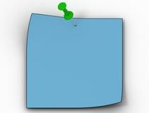 Het kleurendocument blad vector illustratie