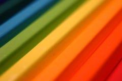 Het kleurenkleurpotlood Stock Afbeeldingen