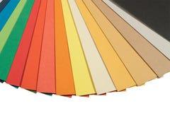 Het kleurenschema van Pantone Stock Foto