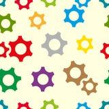 Het kleurentoestel rijdt naadloze textuur stock illustratie