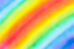 Het kleurpotlood defocused achtergrond stock afbeelding