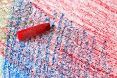 Het Kleurpotlood van de waterverf Royalty-vrije Stock Fotografie