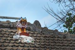 Het kleurrijke aardewerk van Okinawa Stock Foto's