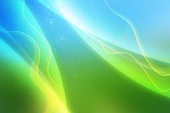 Het kleurrijke abstracte beeld als achtergrond met schittert en steekt aan Royalty-vrije Stock Foto
