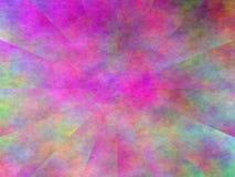 Het kleurrijke Abstracte roze blauwe illusieplasma schilderen Royalty-vrije Stock Afbeelding
