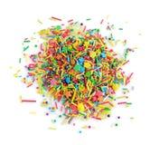 Het kleurrijke banketbakkerij bestrooien Stock Foto's