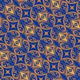 Het kleurrijke Behang van het Batikpatroon Royalty-vrije Stock Fotografie
