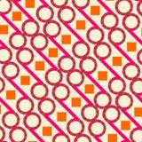 Het kleurrijke Behang van het Batikpatroon Royalty-vrije Stock Foto
