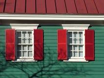 Het kleurrijke buildling Stock Fotografie
