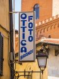 Het kleurrijke historische district in de stad van Pisa - PISA ITALIË - 13 SEPTEMBER, 2017 Royalty-vrije Stock Foto's