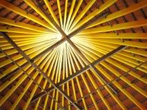 Het kleurrijke houten werk Royalty-vrije Stock Afbeeldingen