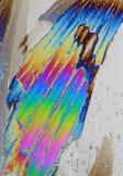 Het kleurrijke Kristal van het Ijs stock afbeelding