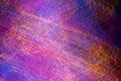 Het kleurrijke lichte schilderen door cameraschok technigue Stock Foto