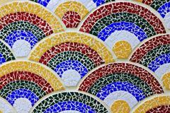 Het kleurrijke mozaïek Stock Afbeeldingen