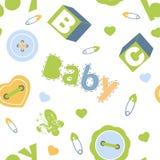 Het kleurrijke naadloze patroon van de babyjongen Royalty-vrije Stock Afbeelding
