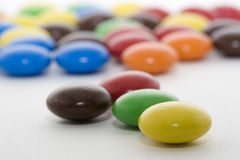 Het kleurrijke Suikergoed van de Chocolade Royalty-vrije Stock Foto