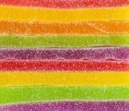 Het kleurrijke suikergoed van de strook Stock Fotografie
