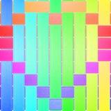 Het kleurrijke teken van het Hart royalty-vrije stock foto's