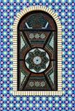 Het kleurrijke venster van de mozaïektextuur Royalty-vrije Stock Afbeelding