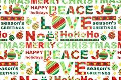 Het kleurrijke Verpakkende Document van Kerstmis Royalty-vrije Stock Foto
