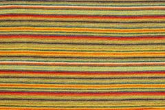 Het kleurrijke weefsel van de wol Royalty-vrije Stock Afbeeldingen