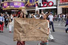 Het Klimaat Maart 87 van mensen stock afbeeldingen