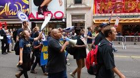 Het Klimaat 330 van mensen Maart stock foto's