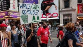 Het Klimaat 332 van mensen Maart royalty-vrije stock fotografie