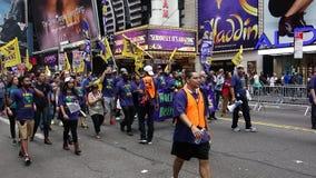 Het Klimaat 334 van mensen Maart stock fotografie