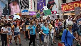 Het Klimaat 33 van mensen Maart stock foto's