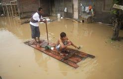 HET KLIMAAToverzicht VAN INDONESIË Stock Afbeelding