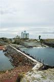 Het klintar eiland van Kobba Royalty-vrije Stock Foto's