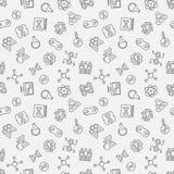 Het klonen vector lineair patroon Menselijke het klonen achtergrond royalty-vrije illustratie