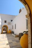 Het klooster Stock Afbeeldingen