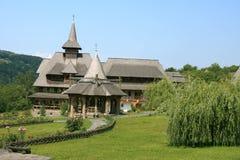 Het klooster Barsana (Maramures, Roemenië) Stock Fotografie