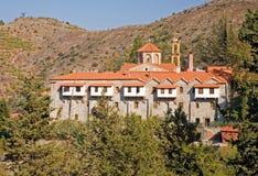 Het Klooster Cyprus van Machairas Stock Fotografie