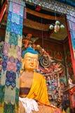 Het Klooster Darjeeling Ghum van Samtencholing stock foto