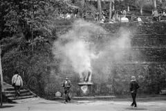 Het Klooster Darjeeling Ghum van Samtencholing royalty-vrije stock afbeelding