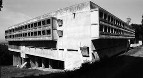 Het klooster DE La Tourette Stock Fotografie
