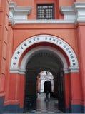 Het Klooster Lima van Santo Domingo Stock Afbeeldingen
