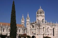 Het Klooster Lissabon van Jeronimos Stock Afbeelding