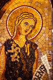 Het Klooster Montserrat Catalonië Spanje van het Mozaïek van de engel royalty-vrije stock foto