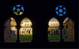 Het Klooster Navarre van het Klooster van Iranzu. Stock Fotografie