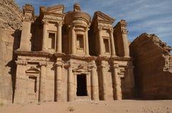 Het Klooster, Petra Royalty-vrije Stock Afbeelding