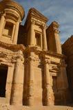 Het Klooster, Petra Royalty-vrije Stock Foto