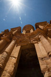 Het Klooster, Petra Stock Foto