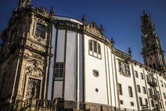 Het klooster Sé doet Porto, Portugal Stock Afbeelding